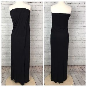 Strapless maxi dress by forever 21 size small